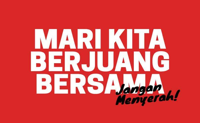 Indonesia Jangan Terserah dan Menyerah Melawan Covid19