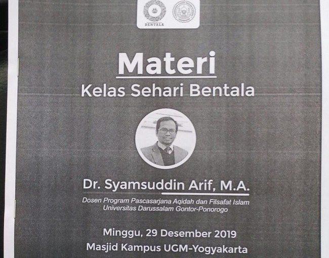 Dr Syamsuddin Arif: Tempatkan Ibnu Sina dengan Benar