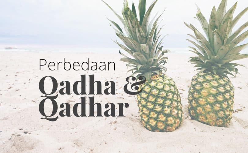 Apakah Perbedaan antara Qadha dan Qadar?